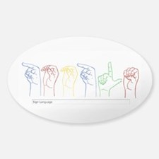 Google Search Sticker (Oval)