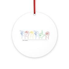 Google Search Ornament (Round)