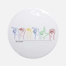 Google Search Ornament (Round)