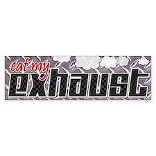 Eat My Exhaust Bumper Bumper Sticker