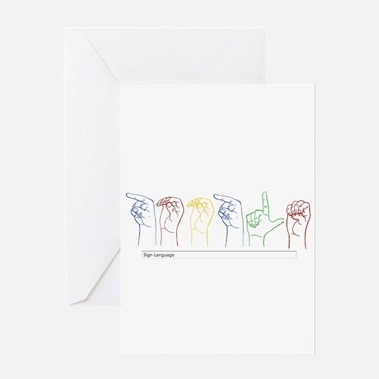 Google Search Greeting Card