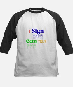 I sign can you? in ASL Tee
