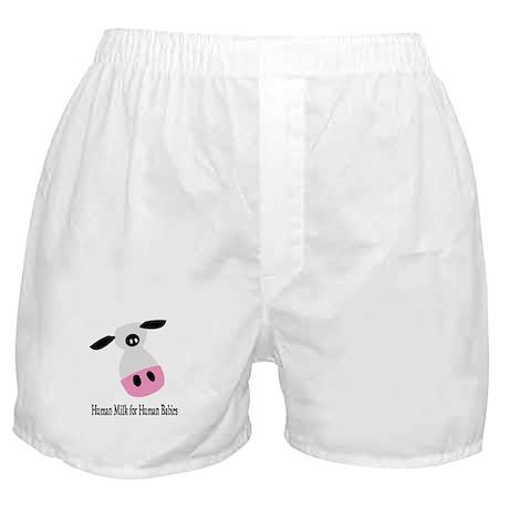 Human Milk (Breastmilk) for Babies Boxer Shorts