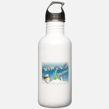 Holiday, happy Water Bottle
