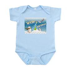 Holiday, happy Infant Bodysuit