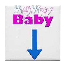 Baby 1 Tile Coaster