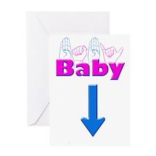 Baby 1 Greeting Card