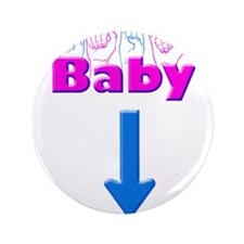 """Baby 1 3.5"""" Button"""