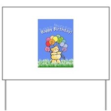 Happy Birthday Card Yard Sign