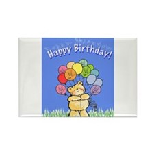 Happy Birthday Card Rectangle Magnet (10 pack)