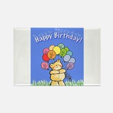 Happy Birthday Card Rectangle Magnet