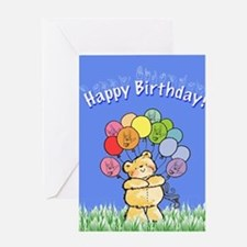 Happy Birthday Card Greeting Card
