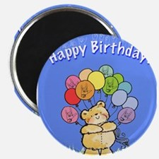 """Happy Birthday Card 2.25"""" Magnet (10 pack)"""