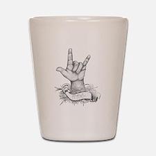 ILY ASL Shot Glass