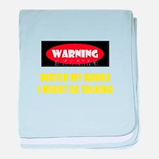 WARNING! baby blanket