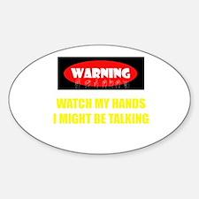 WARNING! Decal