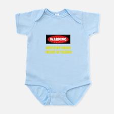 WARNING! Infant Bodysuit
