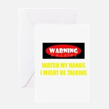 WARNING! Greeting Card