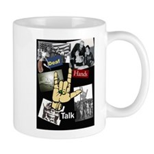 Deaf hands talk Mug