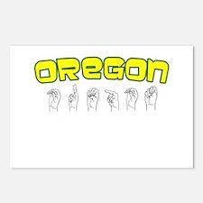 Oregon Design Postcards (Package of 8)
