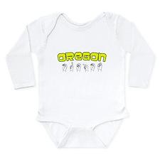 Oregon Design Long Sleeve Infant Bodysuit