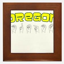 Oregon Design Framed Tile