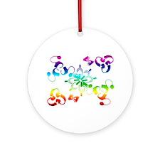 A hidden message Ornament (Round)