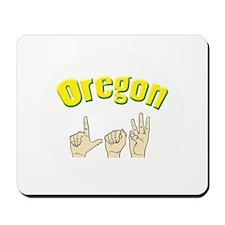 Oregon Law Mousepad