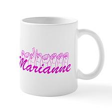 Marianne Fingerspelled Mug