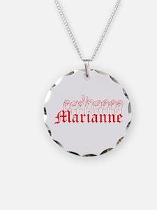 Marianne Fingerspelled Necklace