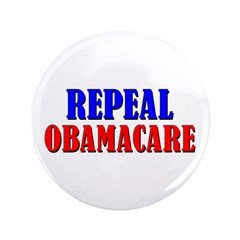 "Repeal Obamacare 3.5"" Button"