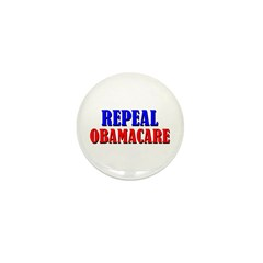 Repeal Obamacare Mini Button (100 pack)