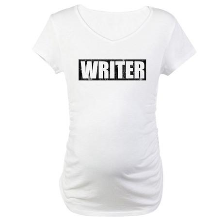 Writer Castle Maternity T-Shirt