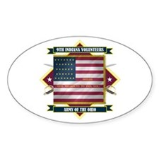 9th Indiana Volunteer Infantr Decal