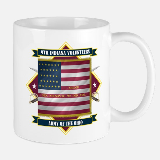 9th Indiana Volunteer Infantr Mug