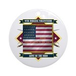 9th Indiana Volunteer Infantr Ornament (Round)