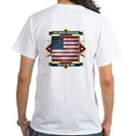 9th Indiana Volunteer Infantr White T-Shirt