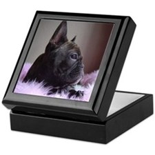 Faux Frenchie Keepsake Box