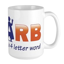 Carb is a 4 Letter Word Mug