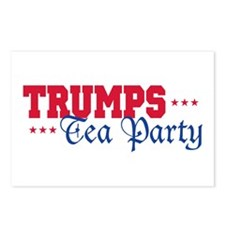 Donald Trump Tea Party Postcards (Package of 8)