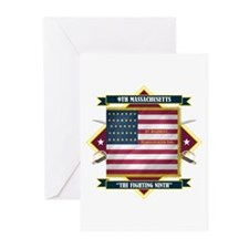 9th Massachusetts Greeting Cards (Pk of 10)