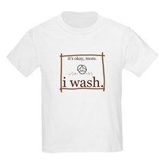 I Wash Kids T-Shirt