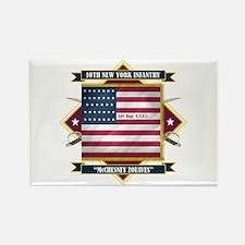 10th New York Infantry Rectangle Magnet