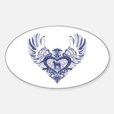 Jack Russell Terrier Sticker (Oval)