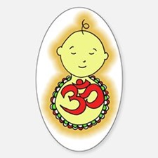 Om Baby Decal
