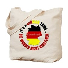 German Thing Tote Bag