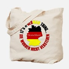 German Thing Tote Bag