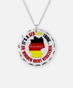 German Thing Necklace