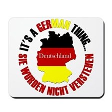 German Thing Mousepad