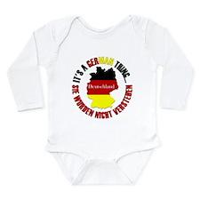 German Thing Long Sleeve Infant Bodysuit